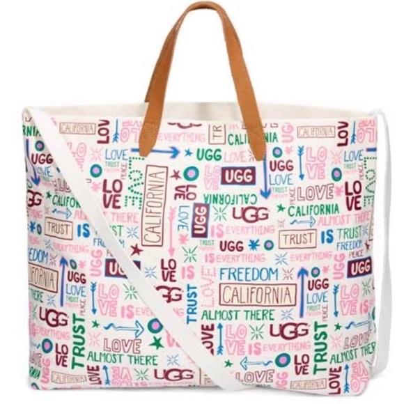 6a209e2a9436 Ugg Tote Bag Spring 2019 Collection NWT